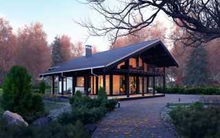 Проекты домов в стиле фахверк + фото коттеджей эконом-класса и чертежи