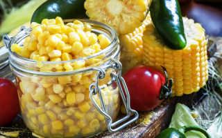 Заготовка кукурузы на зиму в домашних условиях: лучшие рецепты с фото